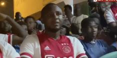 Video: vroeg uitvallen Kudus komt hard aan bij broer in Ghana