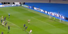 Video: Berghuis mist al vroeg strafschop voor Feyenoord