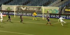 Video: Telstar-speler Soto imiteert Van Basten met wereldgoal
