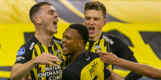 Vitesse blijft gedeeld koploper na stroeve zege op Willem II