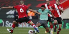 Koploper Everton verliest voor het eerst, donkerrode kaart Digne