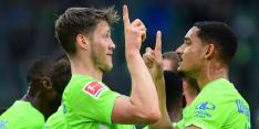 Weghorst helpt VfL Wolfsburg aan eerste zege van het seizoen