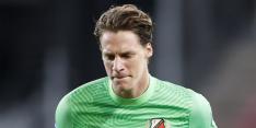 FC Utrecht's eerste keeper Nijhuis krijgt vertrouwen na flaters