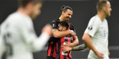 Milan ondanks gemiste penalty Zlatan ruim langs Sparta Praag