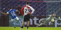 Feyenoord incasseert thuis meeste penalty's ooit in EL