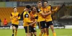 Wolves gedeeld koploper na overwinning op Crystal Palace