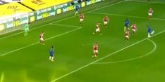 Video: Ziyech voor het eerst trefzeker in Premier League