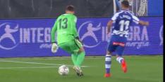 Video: Barça op achterstand door vreselijke blunder Neto