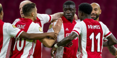 Drie penalty's en doelpunt Brobbey loodsen Ajax langs Fortuna