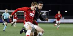 Derby tussen Jong AZ en Telstar levert geen winnaar op