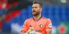 """Marsman verrast: """"Heb laten zien dat ik bij Feyenoord kan keepen"""""""