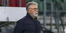 Dolend FC Dordrecht zet Van den Ham per direct op straat