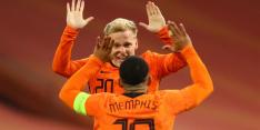 Oranje doet zichzelf na rust tekort tegen sterkere Spanjaarden