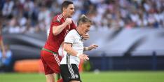 Hongarije-icoon Gera bondscoach tijdens cruciaal duel