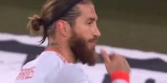 Video: Ramos mist twee strafschoppen tijdens jubileumwedstrijd