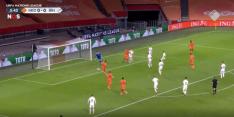Video: Wijnaldum zet Oranje vroeg op voorsprong