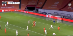 Video: Goed uitgespeelde Oranje-aanval leidt tot treffer Memphis