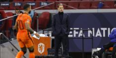 'De Boer wisselt drie keer in basis: Malen, Stengs en Van Aanholt'
