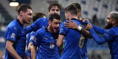 Groepswinst Oranje niet meer in eigen hand na zege Italië