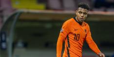 Oranje met Hateboer, Van Aanholt, Stengs en Malen tegen Polen