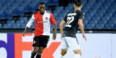 Nieuwe klap voor Feyenoord: Haps voorlopig niet inzetbaar