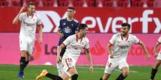Sevilla na invalbeurten De Jong en debutant Idrissi langs Celta