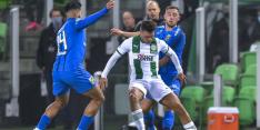 Borja schlemiel tijdens gelijkspel bij Groningen - Vitesse