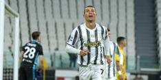 Ronaldo neemt Juventus bij de hand bij rentree De Ligt