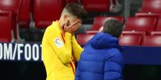 'Piqué laat zich niet opereren: herstel van slechts 3 à 4 maanden'