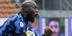 Lukaku redt Internazionale, assist Karsdorp bij zege Roma