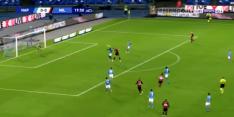Video: Zlatan doet het weer en zet Milan op voorsprong