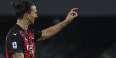 Ibrahimovic doet het weer, maar Milan denkt nog niet aan titel
