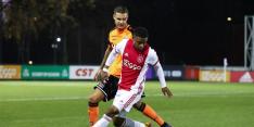 Volendam morst punten in titelstrijd tegen Jong Ajax