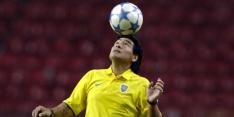 Ronaldo zal 'ongeëvenaarde goochelaar' Maradona nooit vergeten