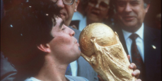 Minuut stilte voor Maradona bij CL- en EL-wedstrijden