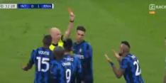 Video: Vidal benadeelt Inter met domme rode kaart voor protesteren
