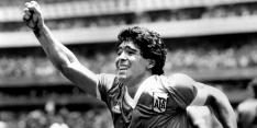 Minuut stilte voor Maradona in Eredivisie en Eerste Divisie