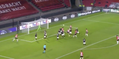 Video: PSV in problemen mede door onterecht afgekeurde goal
