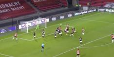 Video: PSV in problemen mede door onterecht afgekeurde goal
