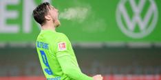Weghorst kondigde bij teamgenoot zijn twee doelpunten al aan