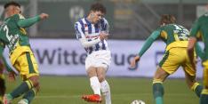 Heerenveen mist Van Bergen mogelijk tegen 'degelijk' Feyenoord