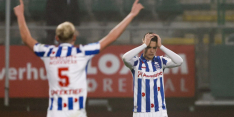 """Woede na afgang Heerenveen: """"We deden maar wat"""""""