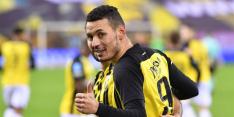 'Gouden wissel' Darfalou verbijt zich op de bank bij Vitesse