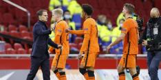 """De Boer over schoonzoon Stengs: """"Ik kijk als bondscoach"""""""
