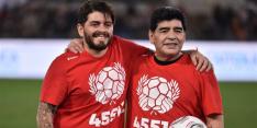 Maradona junior kon door coronaregels geen afscheid nemen