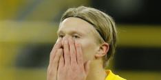 Haaland mist duel met Lazio door hamstringblessure