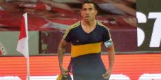 Tévez brengt bij Boca Juniors mooi eerbetoon aan Maradona