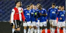 Zwak Feyenoord verliest van Dinamo na discutabele momenten