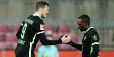 Dortmund wint niet, Weghorst scoort en speelt gelijk