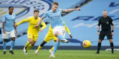 Manchester City wint wederom eenvoudig en sluit aan bovenin